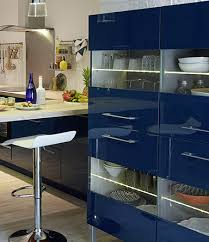 meuble cuisine bleu meuble haut cuisine bleu