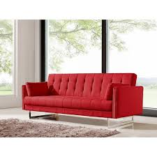 Wooden Frame Sofa Bed Cana Wood Frame Sleeper Sofa U0026 Reviews Birch Lane