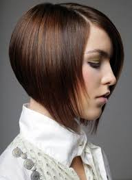 photos of the back of short angled bob haircuts pretty short angled bob hairstyles with side bangs for thin