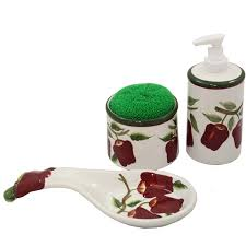 apple canisters for the kitchen apple kitchen decor theme country apple ceramic canisters
