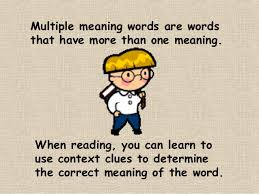 multiple meaning words worksheets 7th grade u0026 multiple meaning