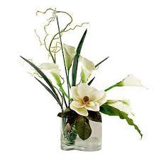 callalily flower flower arrangements magnolia calla bouquet silk floral