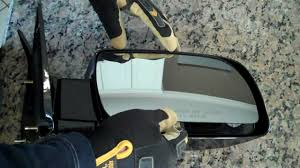 toyota side mirror replacement how to repair and replace a broken side mirror glass diy