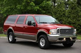 Ford Excursion New 2002 Ford Excursion Limited 7 3l Turbo Diesel Low Miles Mint 4x4