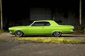 modified muscle cars 1965 dodge dart cars coupe green classic modified wallpaper