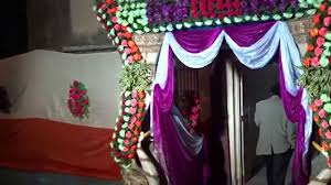 beautiful marriage house gate decoration youtube