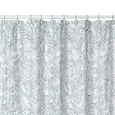 Paisley Shower Curtains Sophisticated Black And White Paisley Shower Curtain Pictures