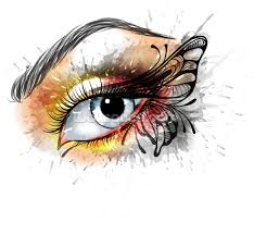 tattoo eye butterfly wallpaper wall mural wallsauce new zealand save your design for later