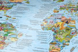 Worlds Map by Small World Leisure Bucket List World Map Re Writeable