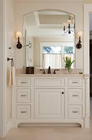 42 inch bathroom vanity bathroom transitional with crown molding