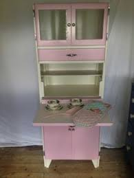 Retro Kitchen Hutch Vintage 50s 60s Kitchen Larder Cabinet U2013 Pink Totally Stripped