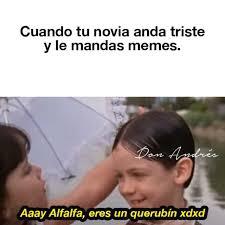 Alfalfa Meme - dopl3r com memes cuando tu novia anda triste y le mandas memes