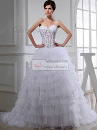ball gown organza sweetheart beading wedding dresses