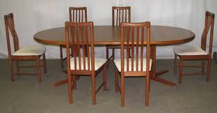 mid century dining table and chairs from oldegoodthings on ruby lane