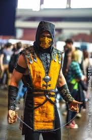 Scorpion Costume Scorpion And Kitana Mortal Kombat Costume Research