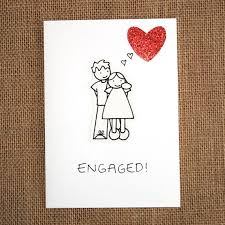 engagement greeting card make a greeting handmade card for engagement with these amazing