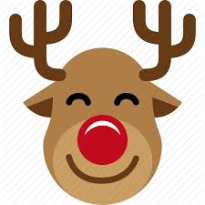 christmas reindeer christmas reindeer rudolph santa sled icon icon search
