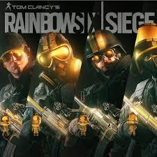 Buy Rainbow Six Siege Gold Amazon Com Tom Clancy S Rainbow Six Siege Pro League Gold Sets