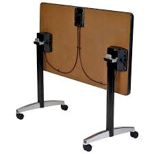 Folding Table With Chair Storage Home Design Extraordinary Rolling Folding Tables Table Legs Desk