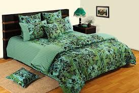 Swayam White N Pink Floral Swayam Floral Double Quilts U0026 Comforters Green Buy Swayam Floral