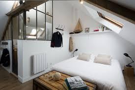 chambre avec normandie un mini loft industriel sous les toits en normandie maison allaert