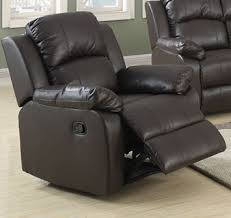 eco leather 1 seater recliner sofa