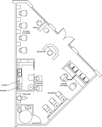 Build A Salon Floor Plan Salon Design Space Planning Floor Plan Layouts For Salons Spas