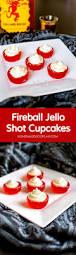 fireball jello shot cupcakes homemade hooplah
