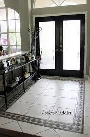 Kitchen With Tile Floor Best 25 Tile Entryway Ideas On Pinterest Entryway Flooring