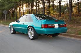 1993 mustang hatchback for sale 1992 ford mustang lx 5 0 calypso green hatch with 1993 cobra