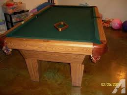 olhausen 7 pool table 7 oak slate olhausen pool table for sale in springfield missouri