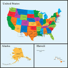 us states detailed map the detailed map of the usa including alaska and hawaii the