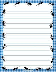 printable animal lined paper 159 best borders stationary animals images on pinterest article
