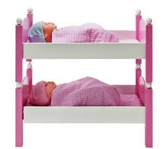 Baby Bunk Bed Buy Chad Valley Babies To Wooden Doll S Bunkbed Set At Argos