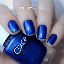 nail escapades live love polish color club swatches blue edition