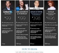 photographer prices prices for corporate headshots with professional miami photographers