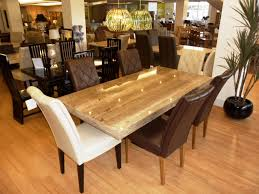 beautiful crate and barrel kitchen table with dining room