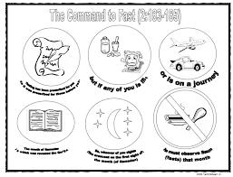 command fast ramadan coloring ramadan kids