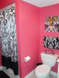 Pink And Black Bathroom Ideas Pink Black And White Bathroom Ideas My Web Value
