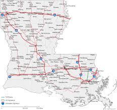 map of louisiana cities louisiana road map