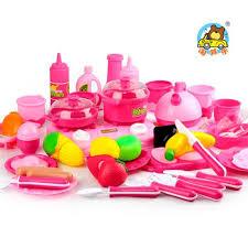 ustensiles de cuisine pour enfant 46pcs set jouets pour enfants des ustensiles de cuisine de couverts