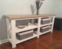 Rustic Hallway Table Console Tables U0026 Cabinets Etsy
