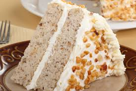 banana nut cake with cream cheese frosting kitchme