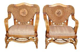 Rattan Accent Chair Acceptable Rattan Accent Chair With Additional Small Home Decor