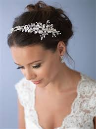wedding headbands pearl freshwater pearl wedding headbands shop bridal