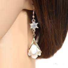 diy drop earrings diy tassel drop earrings fashion women accessories