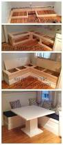 Build Corner Storage Bench Seat by Best 25 Corner Bench Ideas Only On Pinterest Corner Dining Nook