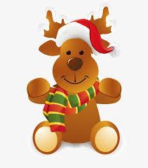 imagenes animadas de renos de navidad dibujos animados de navidad renos elementos de navidad gorros de