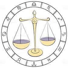 color libra zodiac sign stock vector art 498361309 istock