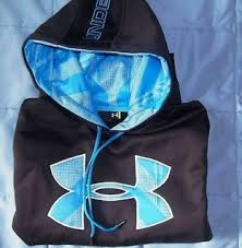 under armour hoodie neon logo hoody sweatshirt youth large yl my